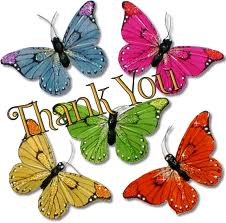 thank you butterfly