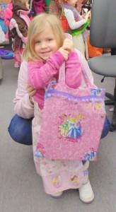 Princess bookbag