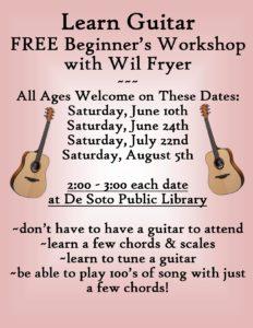 Guitar Workshop Flier
